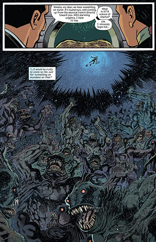 click for super-sized previews of Dept. of Monsterology #1