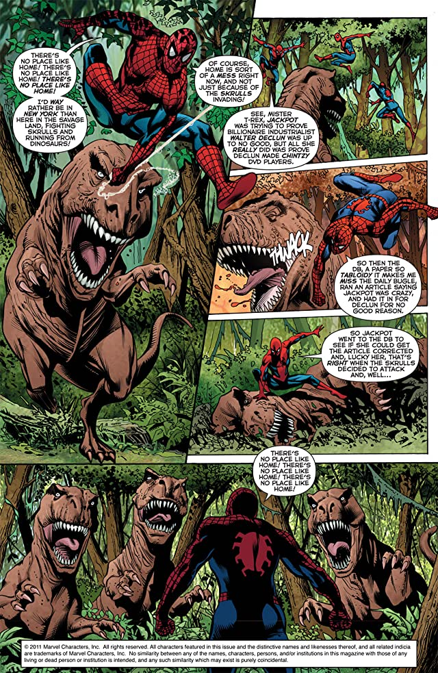 click for super-sized previews of Secret Invasion: The Amazing Spider-Man #2 (of 3)