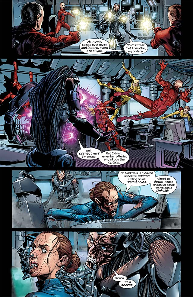 click for super-sized previews of Ultimate Vision #3
