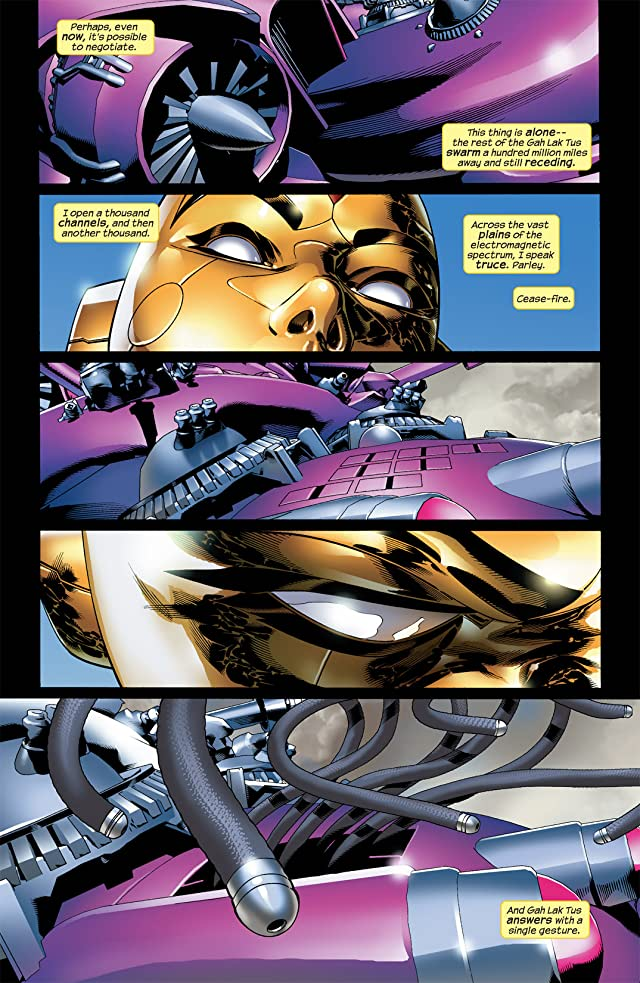 click for super-sized previews of Ultimate Vision #4