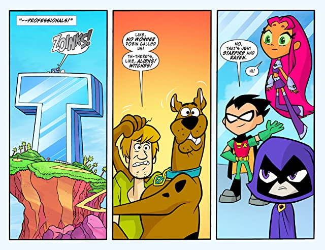 click for super-sized previews of Scooby-Doo Team-Up (2013-) #7