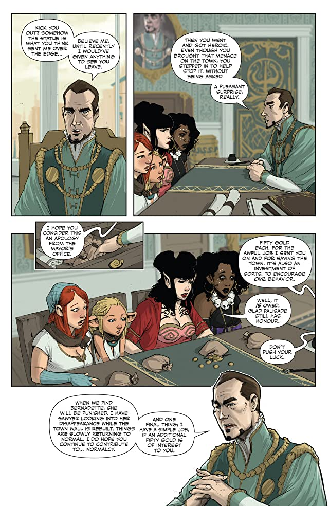 click for super-sized previews of Rat Queens #6
