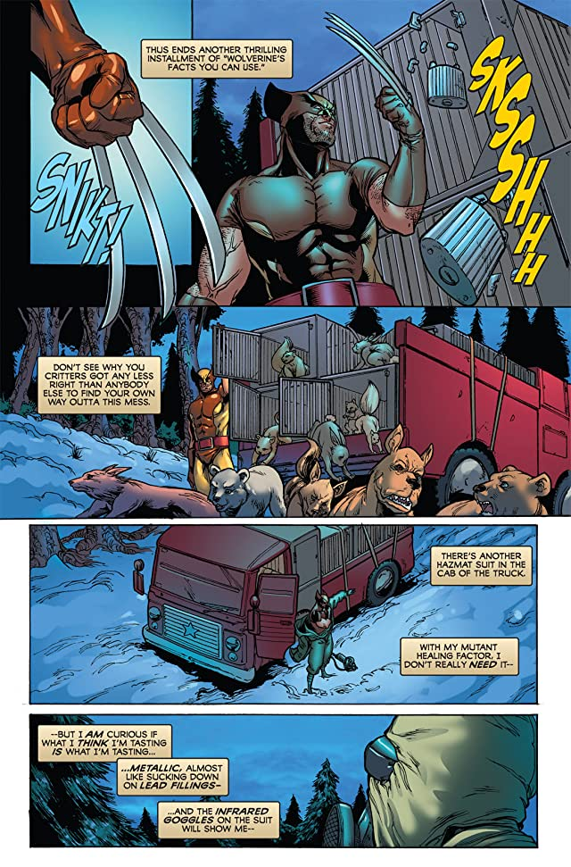 click for super-sized previews of Wolverine: First Class #7
