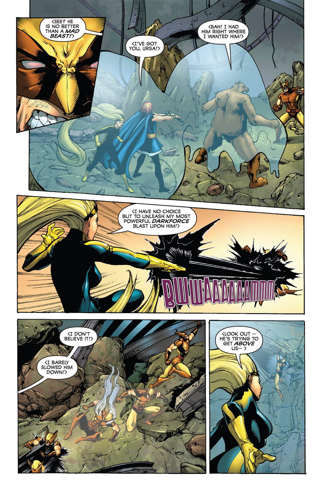 Wolverine: First Class #8