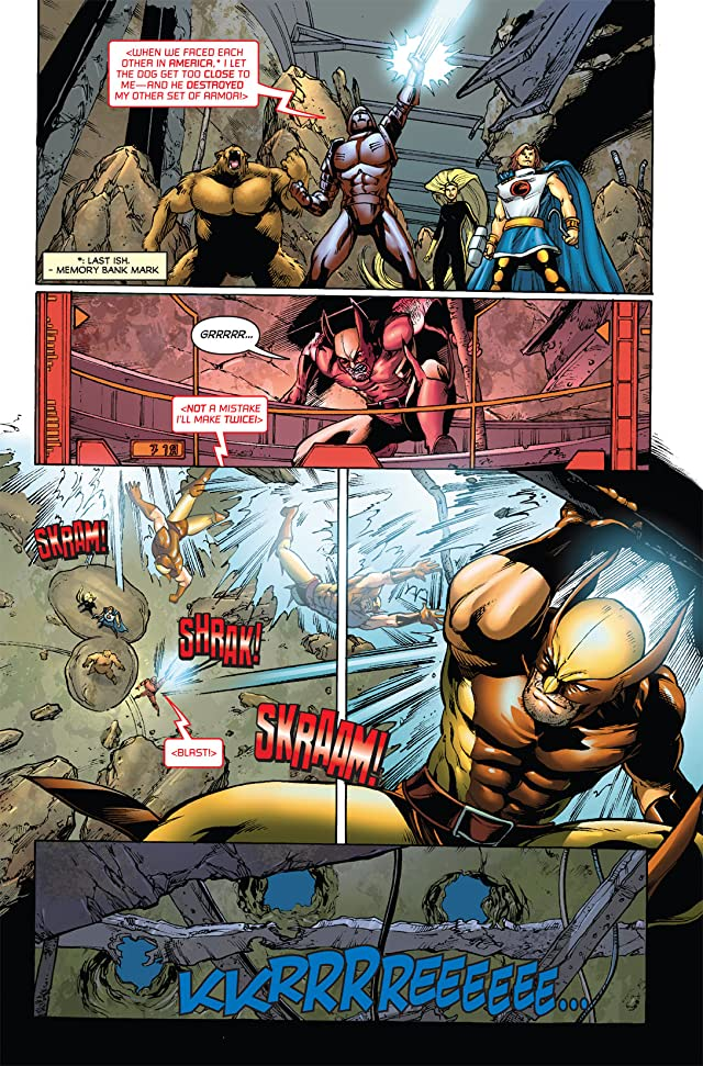 click for super-sized previews of Wolverine: First Class #8