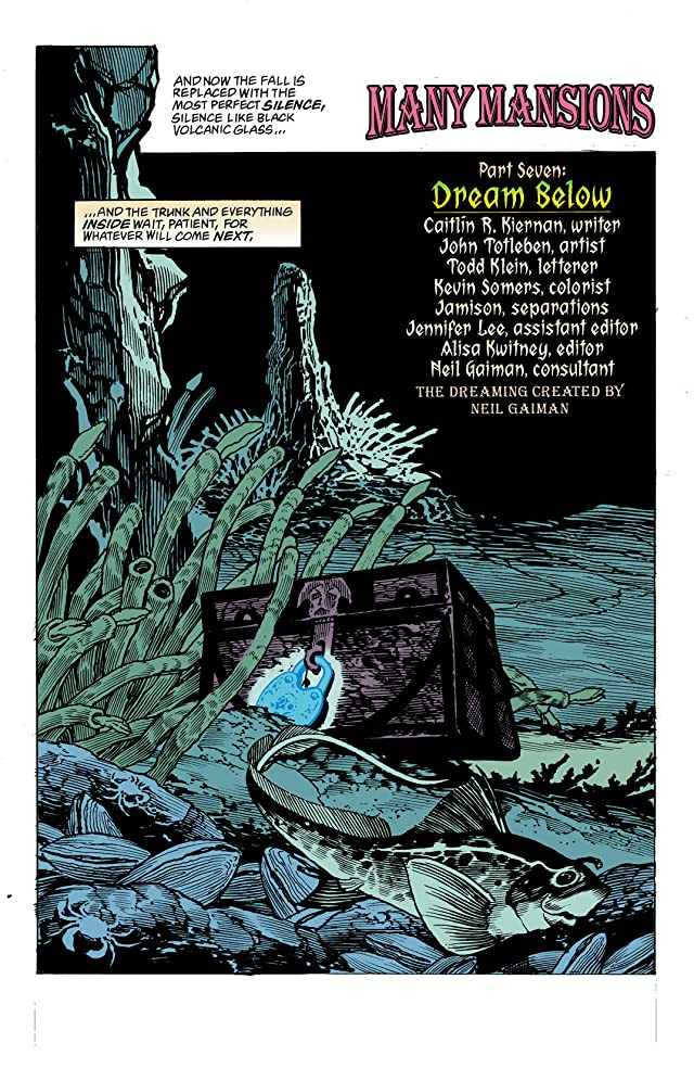 click for super-sized previews of The Dreaming (1996-2001) #33