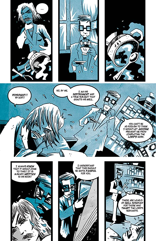 click for super-sized previews of Byron: Die, Byron! Die! #1