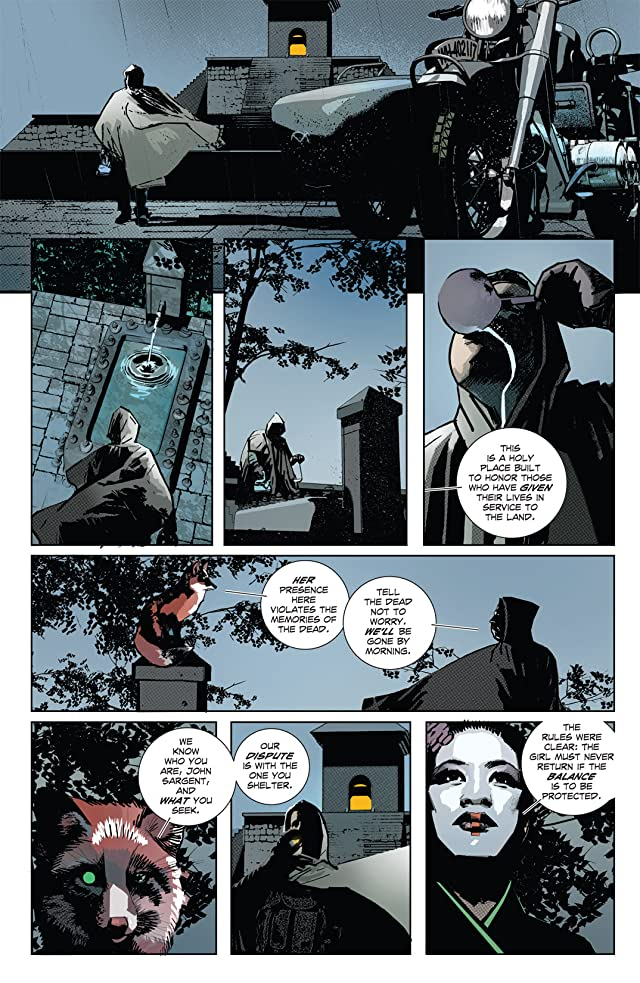 click for super-sized previews of Undying Love #1
