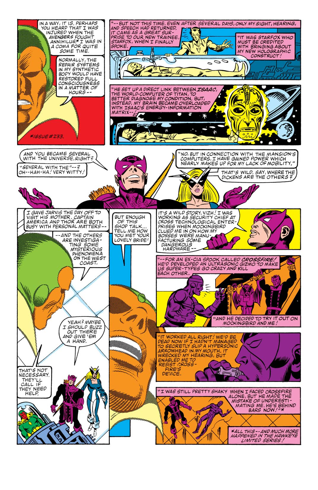 Avengers (1963-1996) #239