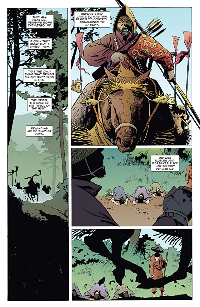 click for super-sized previews of 5 Ronin #5 (of 5)
