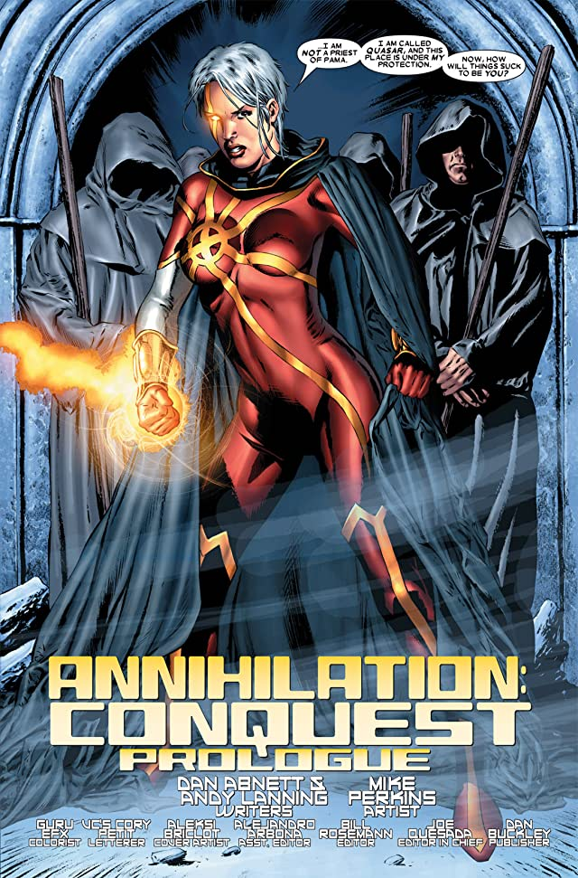 click for super-sized previews of Annihilation: Conquest Prologue