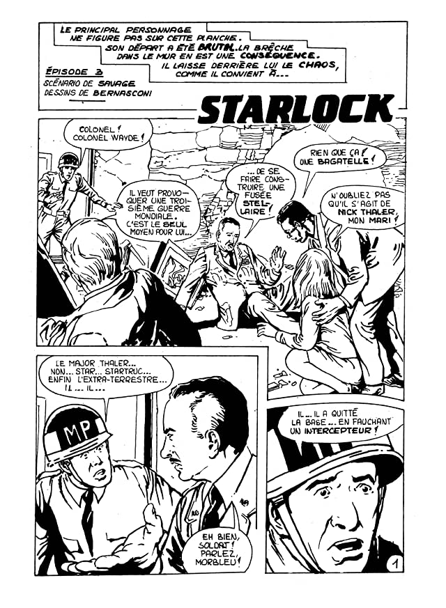 click for super-sized previews of STRANGERS: STARLOCK Vol. 2: Compte à rebours