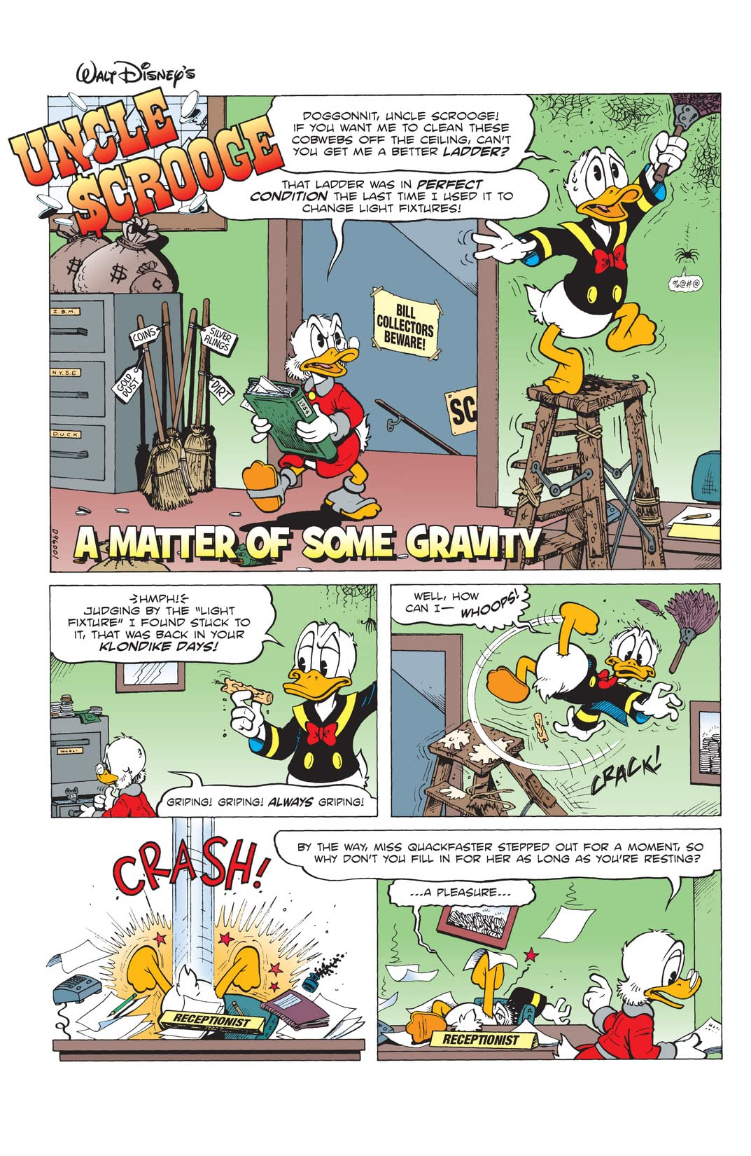 FCBD 2014: Don Rosa's Uncle Scrooge and Donald Duck - A Matter of Serious Gravity