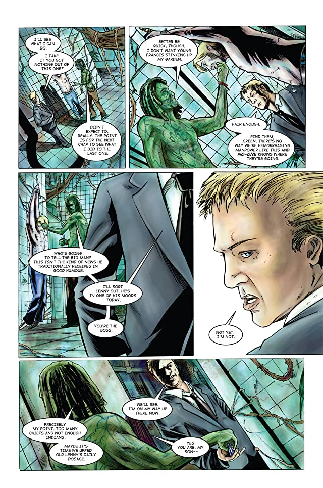 click for super-sized previews of Slaughterman's Creed #3