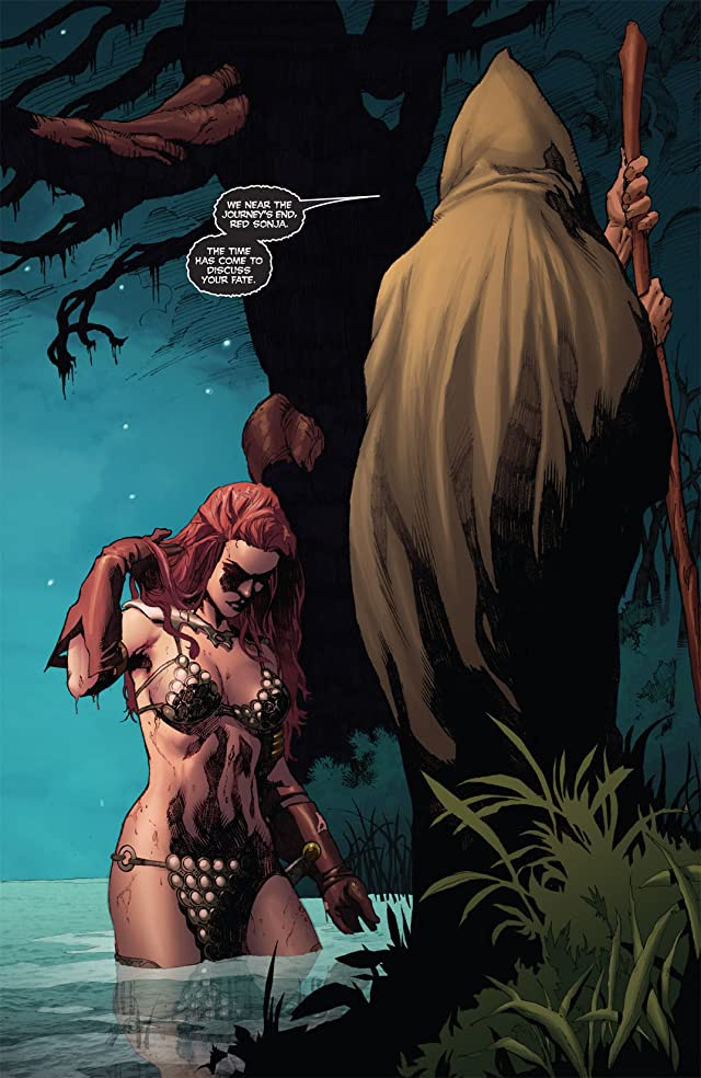 click for super-sized previews of Red Sonja: She-Devil With a Sword #34