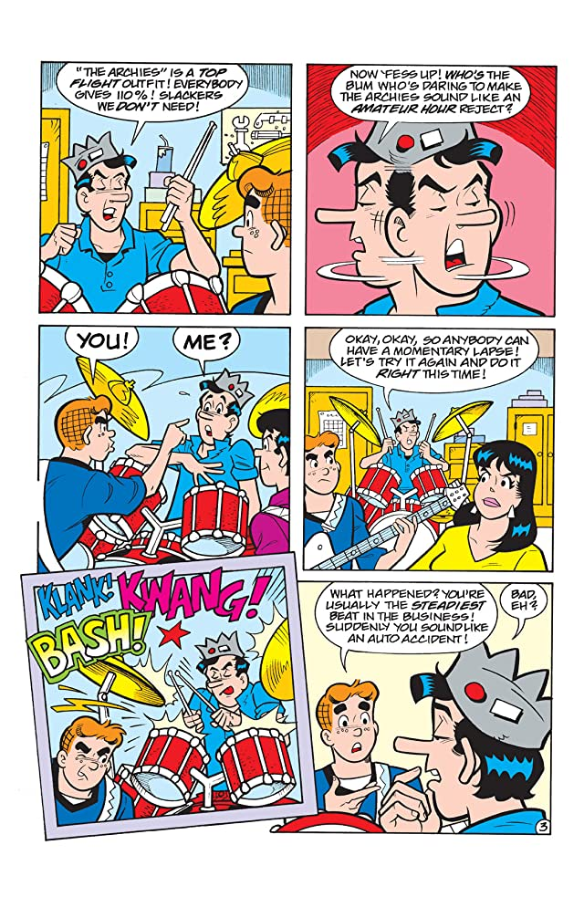 click for super-sized previews of Jughead #161