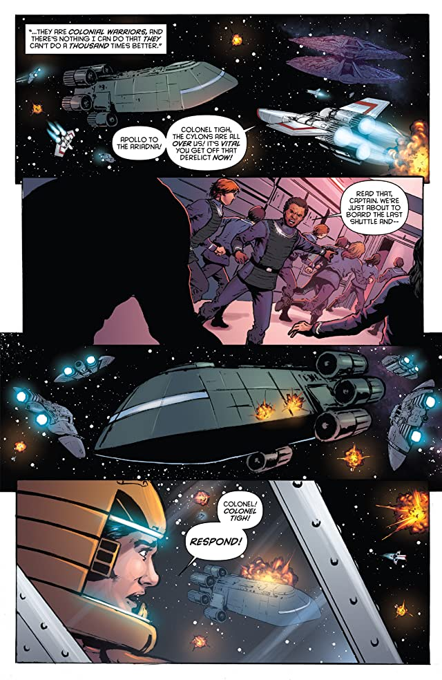 click for super-sized previews of Classic Battlestar Galactica Vol. 2 #11: Digital Exclusive Edition