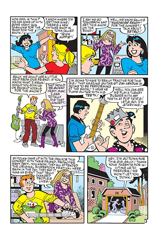 click for super-sized previews of Archie #599