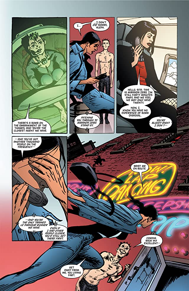 click for super-sized previews of Global Frequency #6