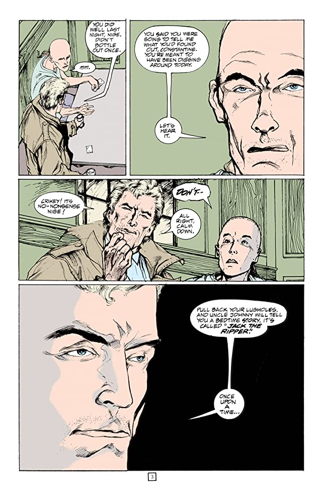 click for super-sized previews of Hellblazer #54