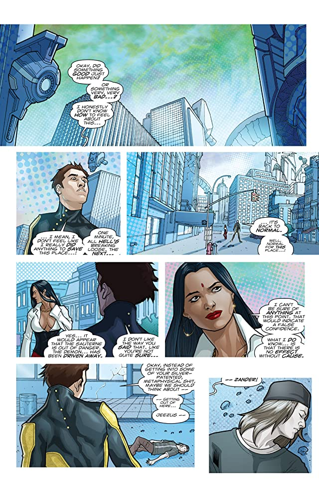 click for super-sized previews of The Bounce #12