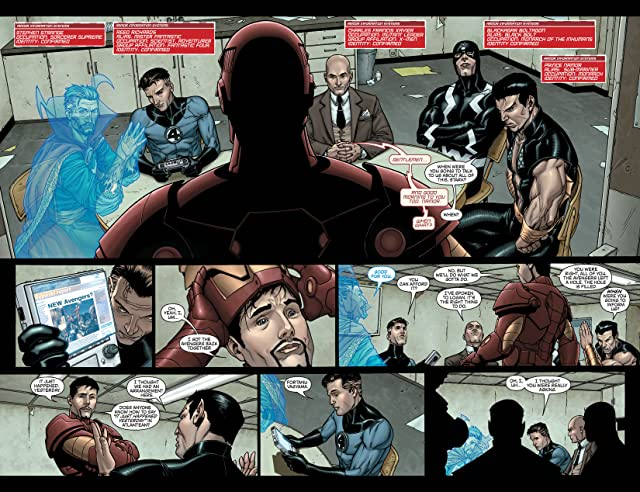click for super-sized previews of New Avengers (2004-2010) #7