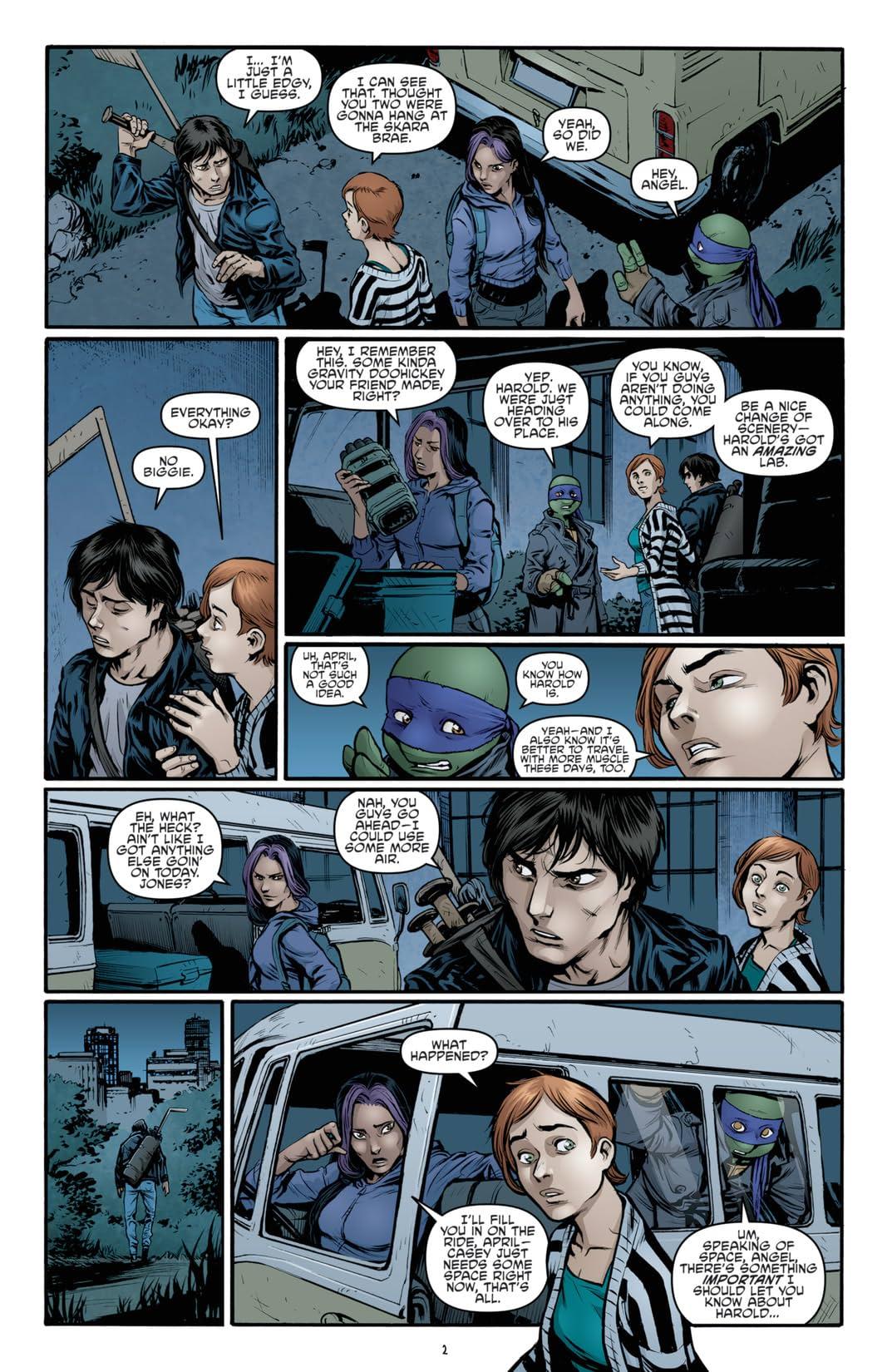 Teenage Mutant Ninja Turtles #34
