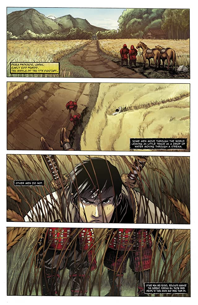 click for super-sized previews of Samurai's Blood #1: Preview