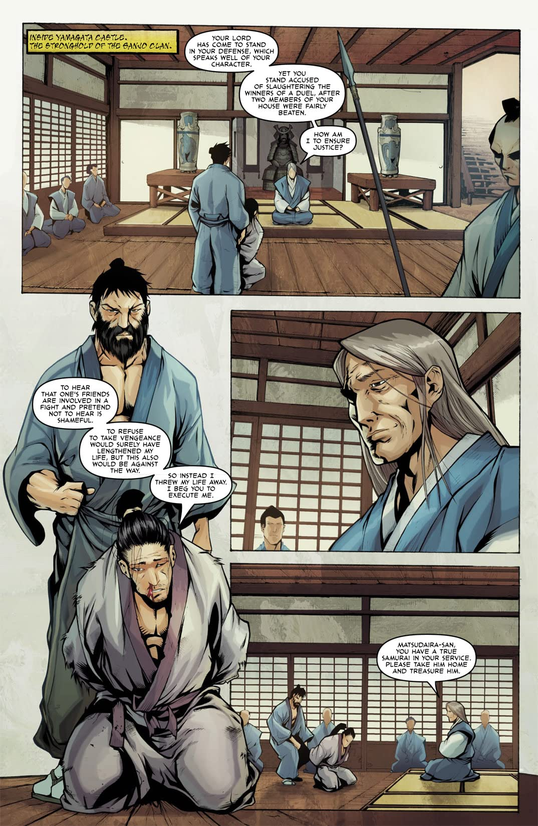 Samurai's Blood #1: Preview