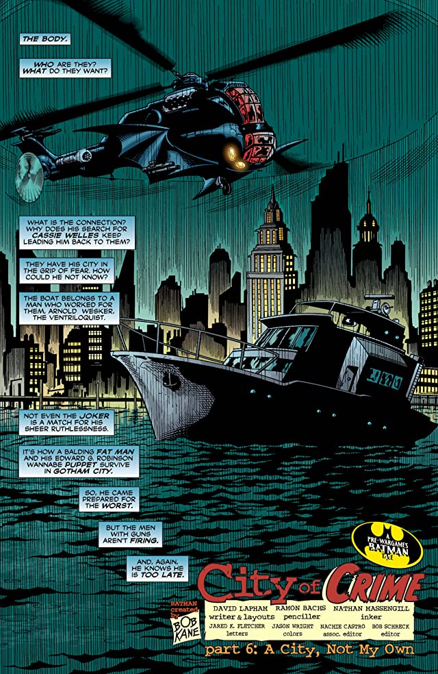 click for super-sized previews of Detective Comics (1937-2011) #806