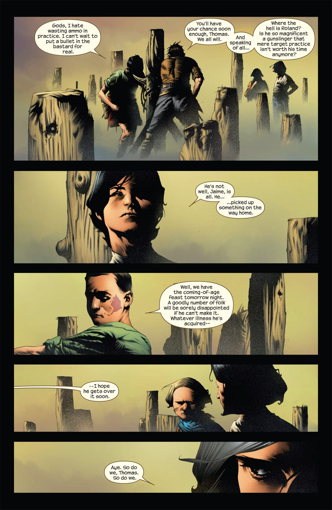 Dark Tower: Treachery #2 (of 6)
