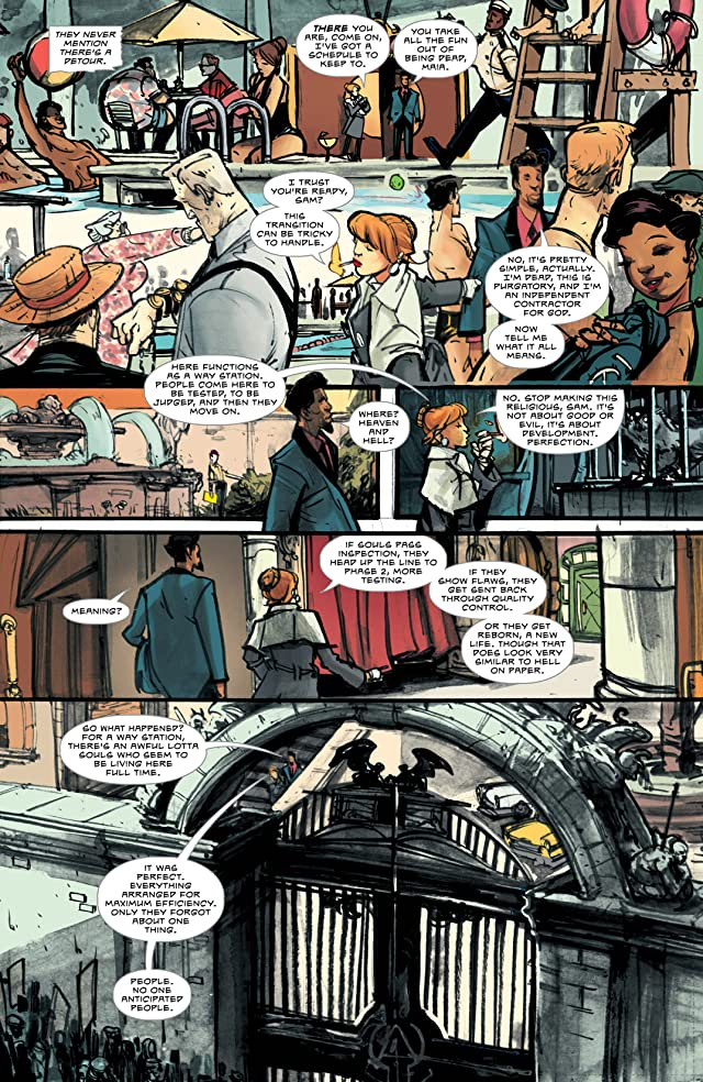 click for super-sized previews of Dead Letters #2