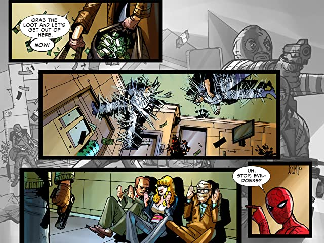 click for super-sized previews of Amazing Spider-Man: Who Am I? Infinite Digital Comic #1