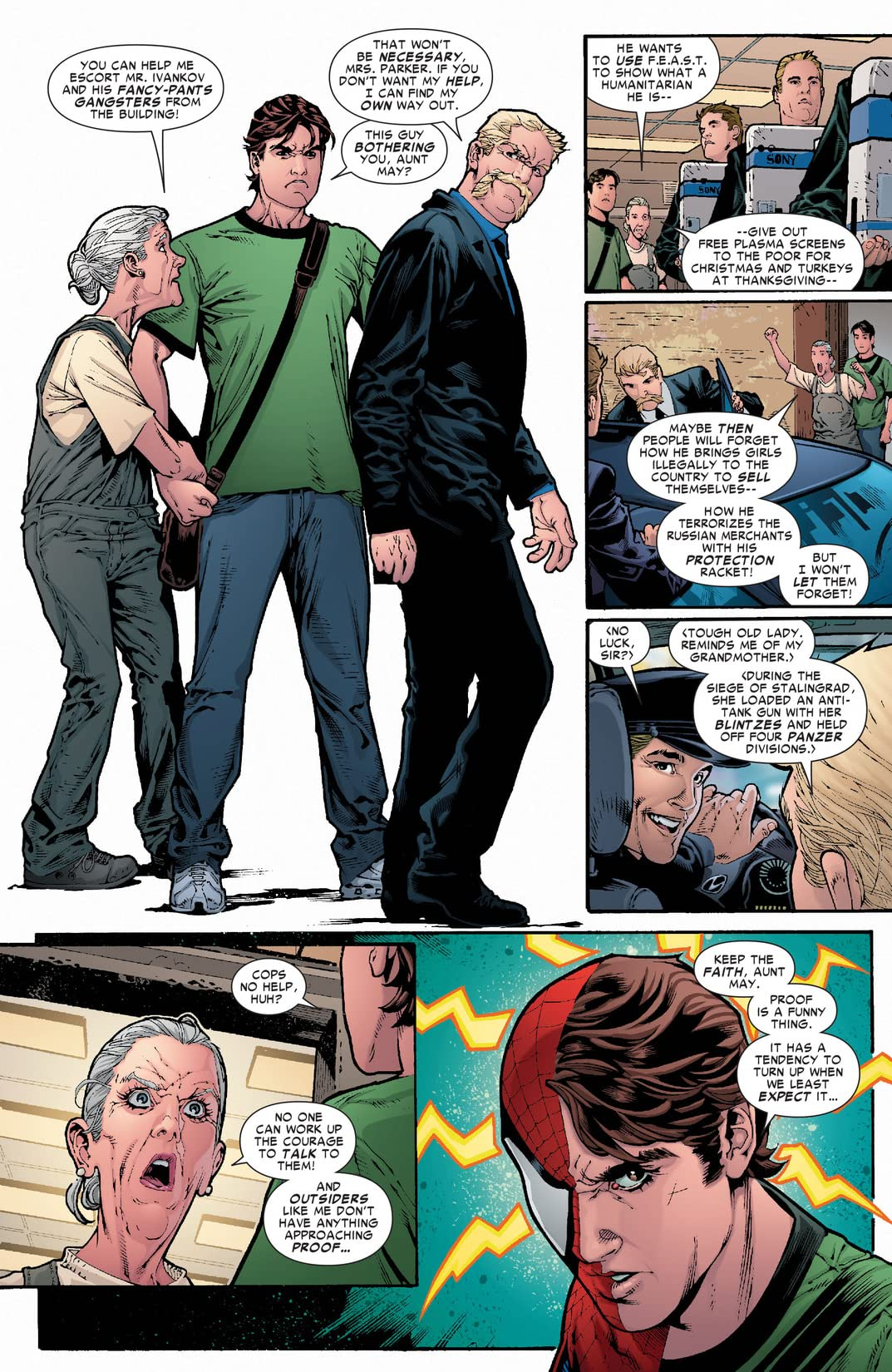 Amazing Spider-Man (1999-2013) #589