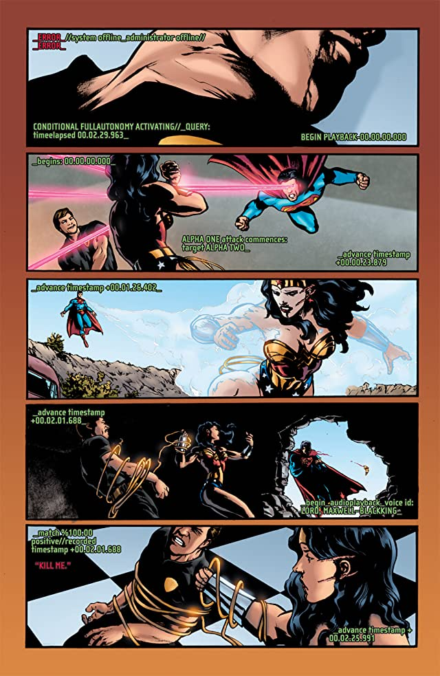 click for super-sized previews of The OMAC Project #4 (of 6)