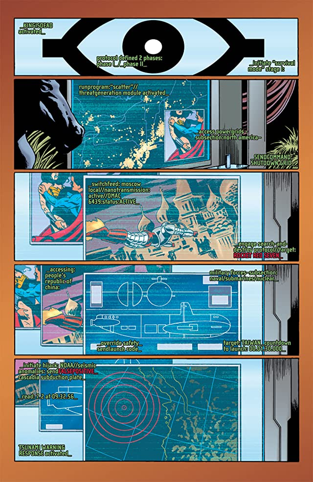 click for super-sized previews of The OMAC Project #4