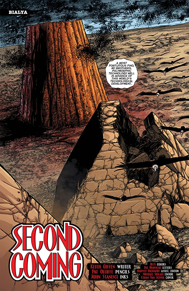 click for super-sized previews of 52 Aftermath: The Four Horsemen #3