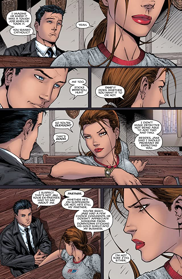 click for super-sized previews of Witchblade #81