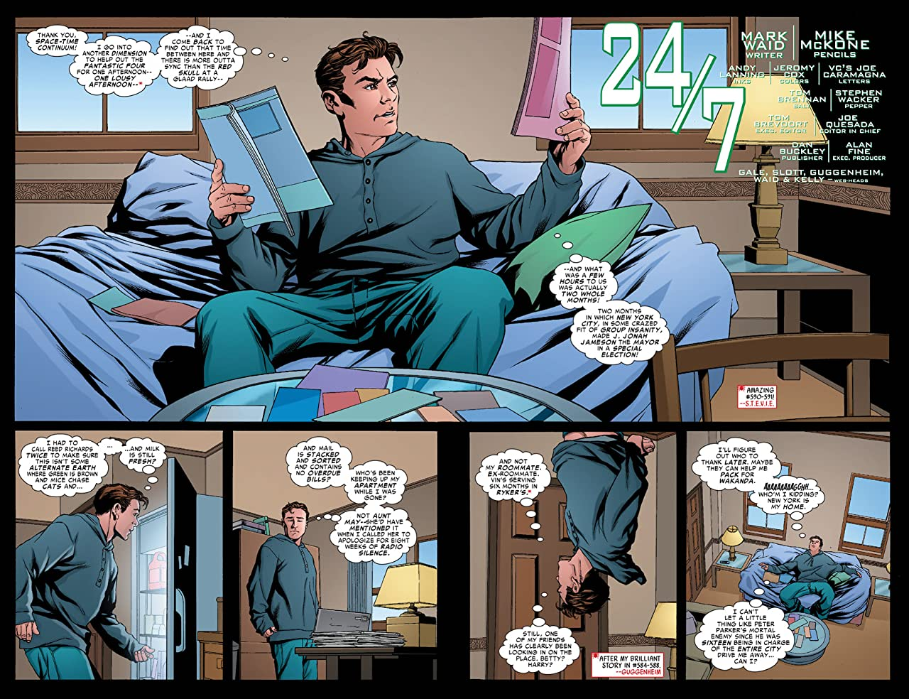 Amazing Spider-Man (1999-2013) #592