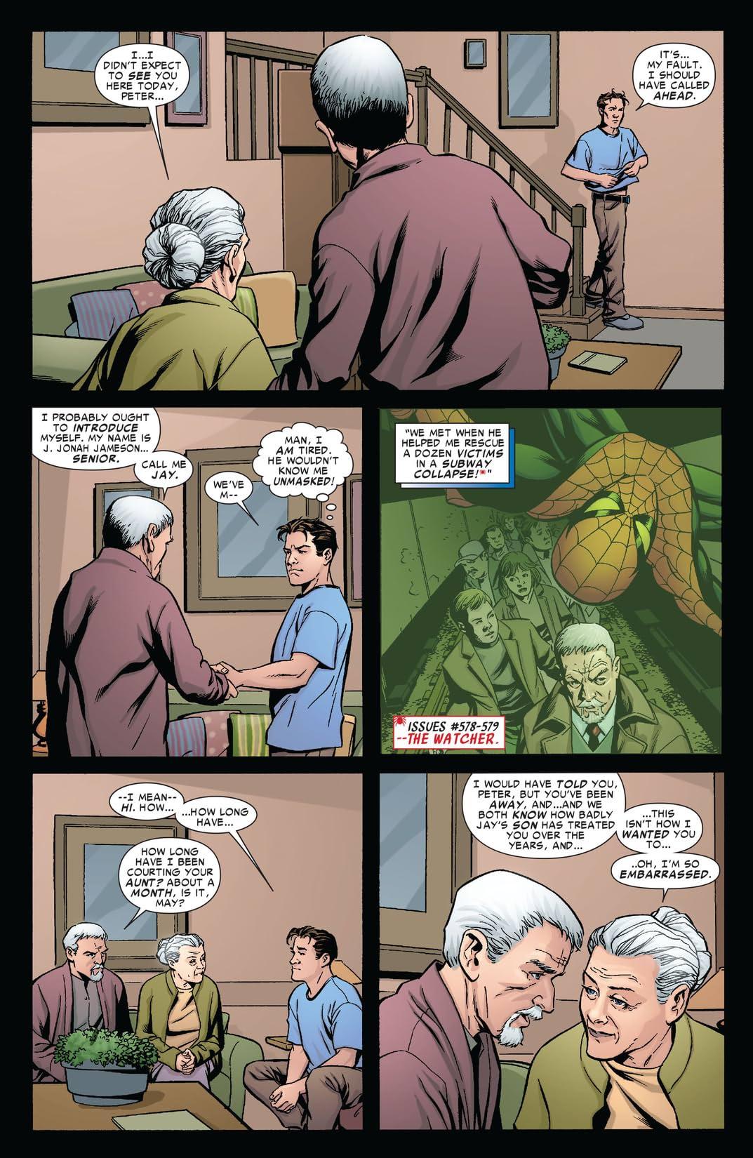 Amazing Spider-Man (1999-2013) #593