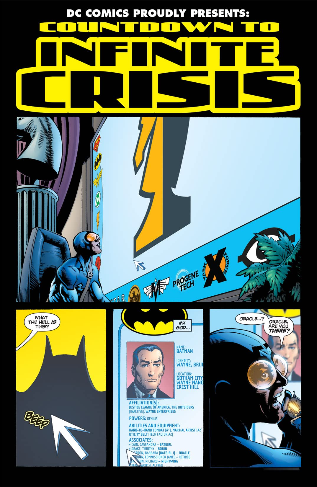 Countdown to Infinite Crisis #1