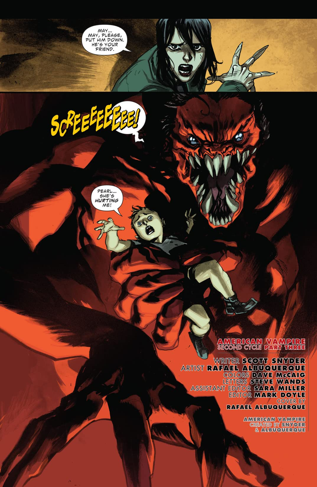 American Vampire: Second Cycle #3
