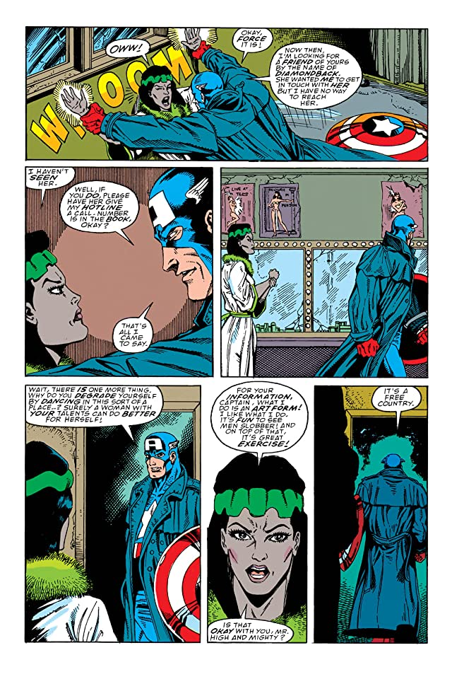 click for super-sized previews of Captain America (1968-1996) #369