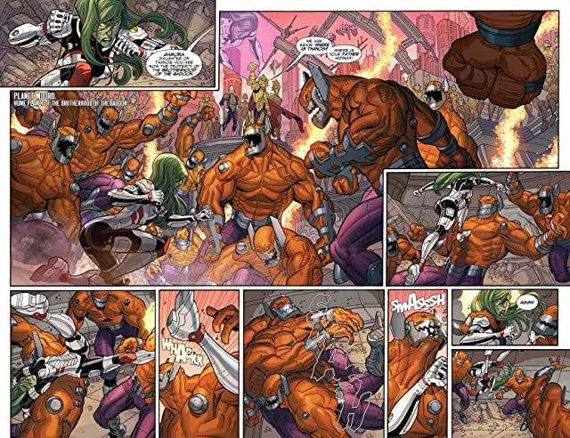click for super-sized previews of Guardians of the Galaxy (2013-) #15