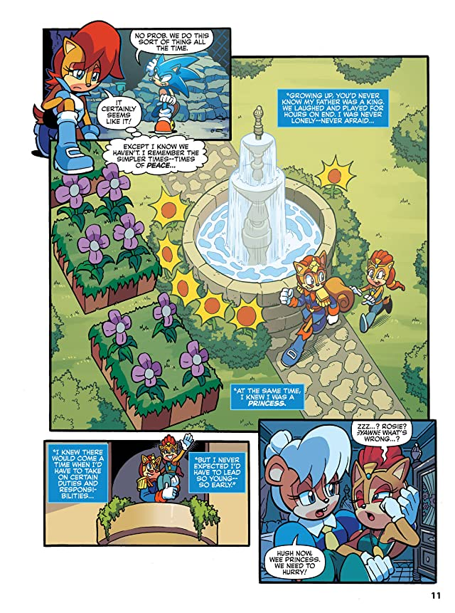 click for super-sized previews of Sonic Super Special Magazine #11