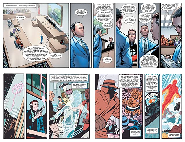 click for super-sized previews of Fantastic Four (2014-2015) #5