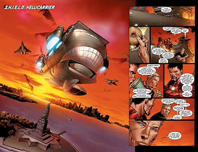 click for super-sized previews of New Avengers (2004-2010) #3