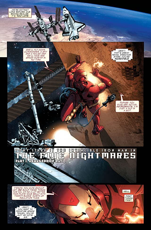 click for super-sized previews of Invincible Iron Man (2008-2012) #1