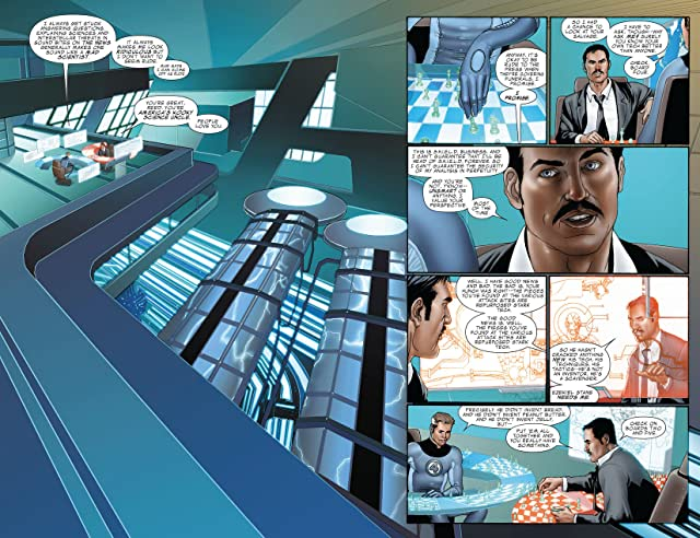 click for super-sized previews of Invincible Iron Man (2008-2012) #4