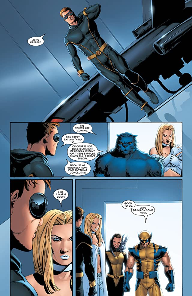 click for super-sized previews of Astonishing X-Men (2004-2013) #4